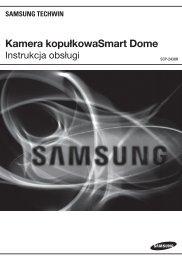 Kamera kopułkowaSmart Dome - Samsung CCTV