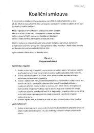 Koaliční smlouva z 17.12.2012 - Město Roztoky