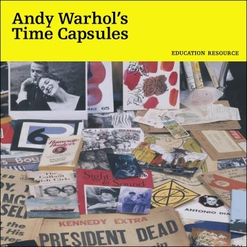 Andy Warhol's Time Capsules (416.9 KB PDF) - National Gallery of ...
