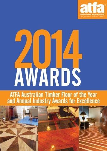 2014 ATFA Awards Entry/Nomination form - The Australian Timber ...