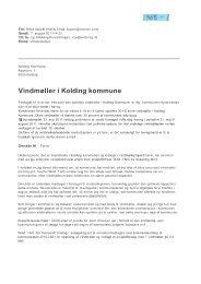 Vindmøller i Kolding kommune