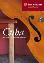CARIBTOURS - Cuba - 2011/2012 - Travelhouse