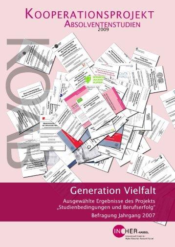 Generation Vielfalt. - Universität Kassel