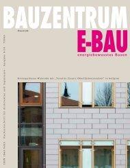 Ausgabe 5/10 - BAUZENTRUM E-BAU