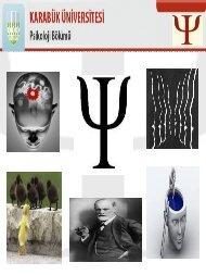 bölüm tanıtım slaytı - Fen Edebiyat Fakültesi - Karabük Üniversitesi