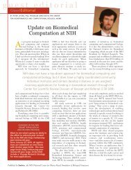 guest editorial - Biomedical Computation Review