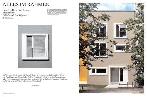 ALLES IM RAHMEN - hildebrandt.lay.architekten