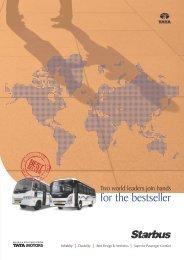 Starbus Range Leaflet - Buses - Tata Motors