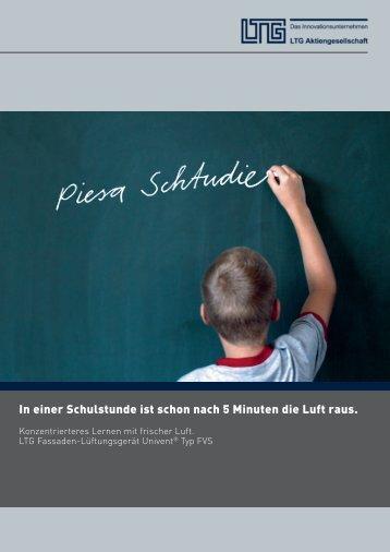 Broschüre - LTG Aktiengesellschaft