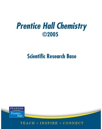 Prentice hall Chemistry Chapter 10 Review answer key