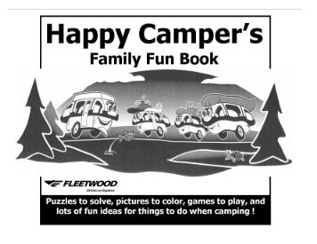 Happy Camper's Family Fun Book - Western Campers
