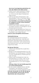 Gebrauchsanleitung Operating instructions Mode d ... - Air Naturel - Page 7