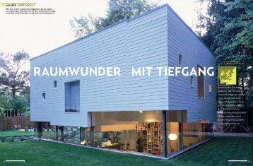 RAUMWUNDER MIT TIEFGANG - Kraus-schoenberg.com