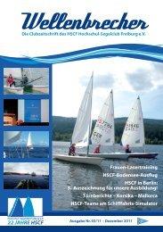 Nr. 3/2011 (PDF) - Hochschul-Segelclub Freiburg