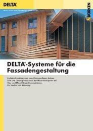 DELTA®-Systeme für die Fassadengestaltung - Ewald Dörken AG