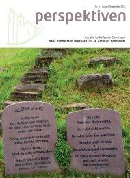 perspektiven Nr. 5 - Katholische Kirchengemeinde Hl. Kreuz