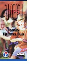 101 Tips for Family Fitness Fun
