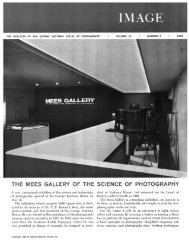Image - Issues of Image Magazine - George Eastman House
