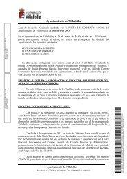 31 / enero / 2013 - Ayuntamiento Villalbilla