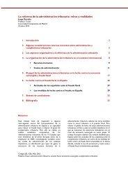 La reforma de la administración tributaria - IEB - Institut d'Economia ...