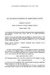On the Banach envelope of Hardy-Orlicz spaces - Univerzitet u ...