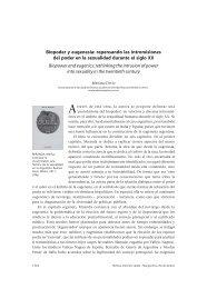 Biopoder y eugenesia: repensando las intromisiones del poder en ...