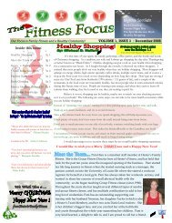 The Fitness Focus - Volume 1, Issue 3.pub - Hester's Family Fitness