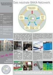 BAKA Modell-Projektbroschüre - Bauhandwerk