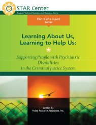 Learning about Us, Learning to Help Us: Supporting ... - STAR Center