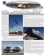 December Supplement - Davis-Monthan Air Force Base