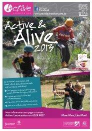 Active & Alive 2013 - Active Launceston