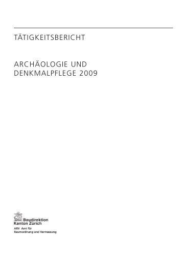 Taetigkeitsbericht 2009 (PDF, 64 Seiten, 1 MB) - Kanton Zürich