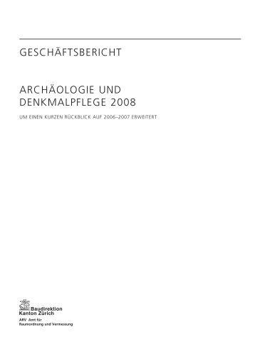 Taetigkeitsbericht 2008 (PDF, 51 Seiten, 1 MB) - Kanton Zürich