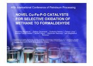 NOVEL Cu-Fe-P-O CATALYSTS FOR SELECTIVE OXIDATION OF ...