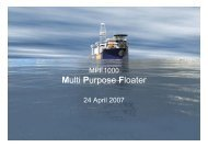 Multi Purpose Floater