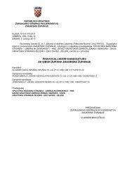 Kandidatura za izbor župana Zadarske županije - Grad Biograd na ...