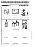 Write the Spanish vocabulary word below each picture. If ... - CIBACS - Page 2