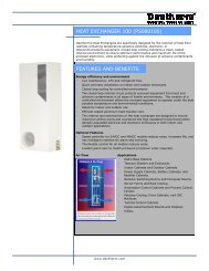 HEAT EXCHANGER 100 (PS060100) FEATURES AND ... - Dantherm