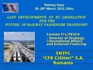 Fourth Railway Package - Club Feroviar Conferences