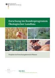 Forschung im Bundesprogramm Ökologischer Landbau