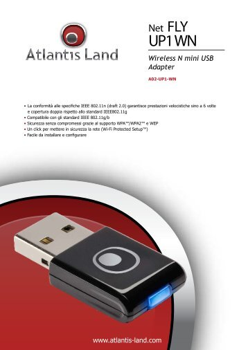 ATLANTIS LAND NETFLY UP1 WN DRIVERS UPDATE