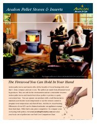 Newport Compact Stove Avalon Pellet Stoves & Inserts - Lisac's ...