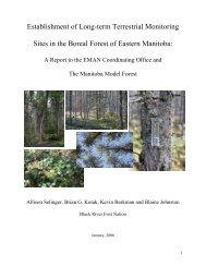 Establishment of Long-term Terrestrial Monitoring Sites in the Boreal ...