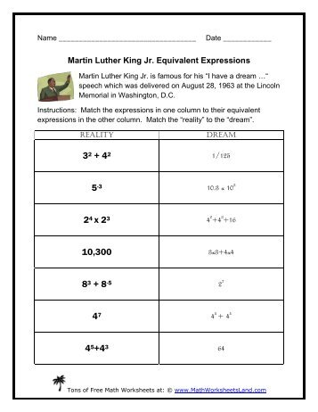math worksheet : martin luther king jr visual addition  math worksheets land : Martin Luther King Math Worksheets