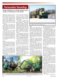 Forwarder Roundup - Forestry Journal