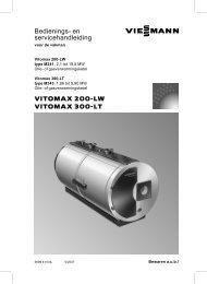 Bedienings- en service- handleiding1.1 MB - Viessmann