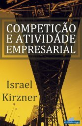 Israel Kirzner - Competição e Atividade Empresarial