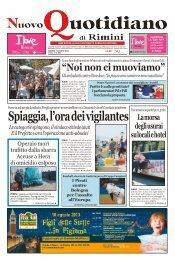 'Un tuffo nel Liberty', Nuovo Quotidiano Rimini - Andrea Speziali