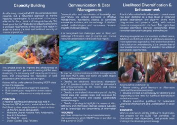 EU Project Promotional Brochure - International Coral Reef Action ...