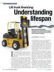 Lift truck financing: - Logistics Management